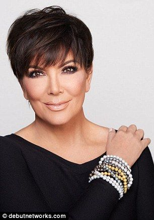 Kris Jenner Dons A Pearl Necklace As She Launches A Jewelry Line