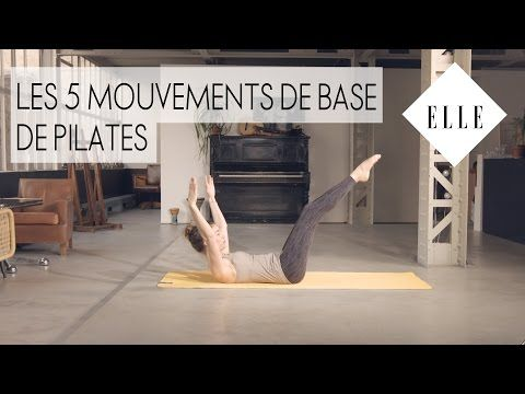 Mincir avec le pilates┃ELLE Pilates - YouTube #pilatesvideo