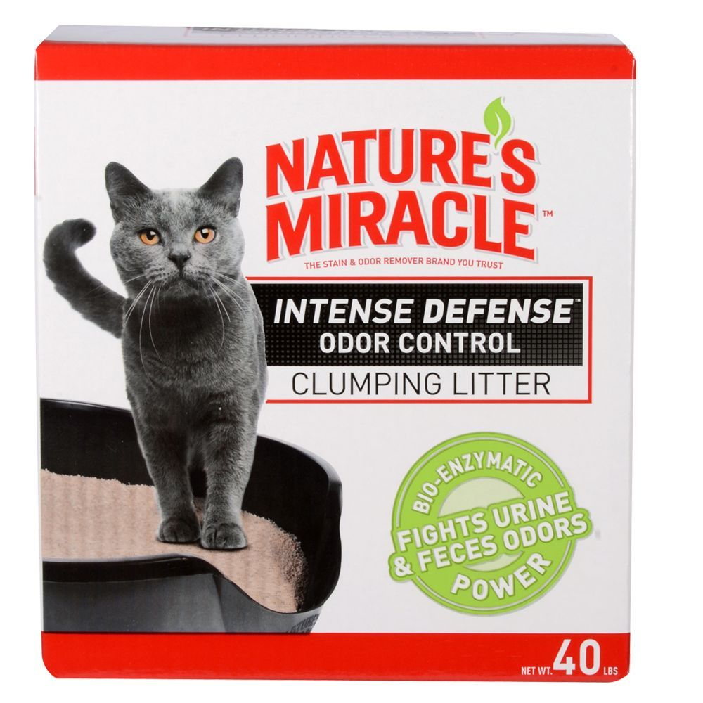 Nature's Miracle Intense Defense Odor Control Clumping Cat