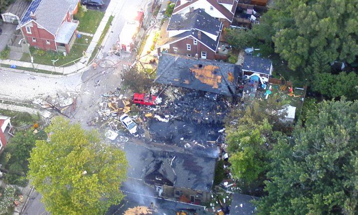 Massive Explosion Rocks London, Ont., Neighbourhood
