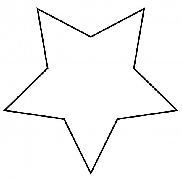 Also fatter star _ Star Clip Art Illustrations \ Patterns for - star template