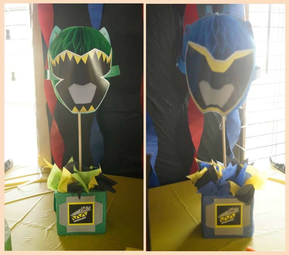 Power Rangers Dino Charge Birthday Party Ideas | Power ...