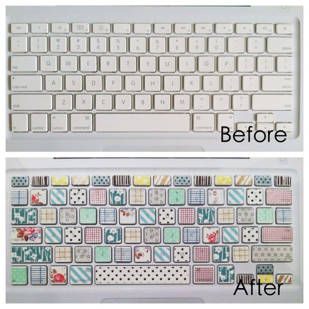 Diy Washi Tape Keyboard Diy Washi Tape Keyboard Washi Tape