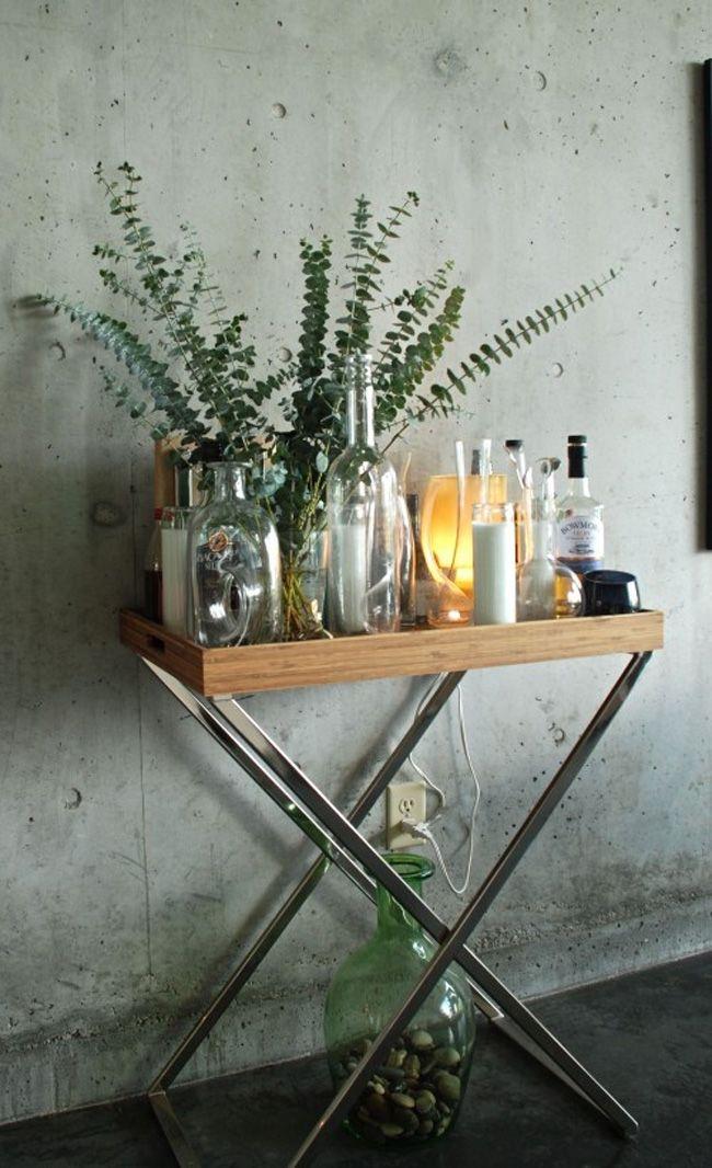 Decorar con eucalipto estilo escandinavo interiors - Bandejas decoracion salon ...