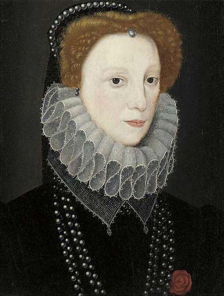 Photo of Possibly Lettice Knollys, Daughter of Catherine Carey, Granddaughter of Mary Boleyn, Niece of Anne Boleyn