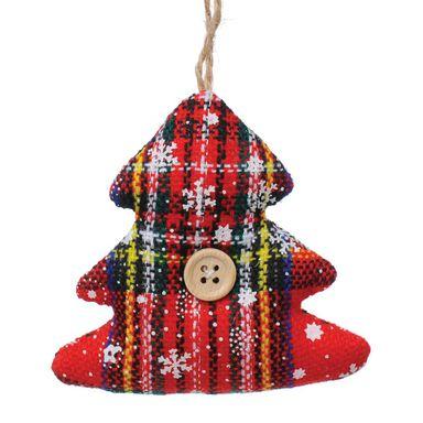 Zawieszka Swiateczna Recznie Szyta Choinka 9 Cm Leroy Merlin Christmas Ornaments Novelty Christmas Holiday