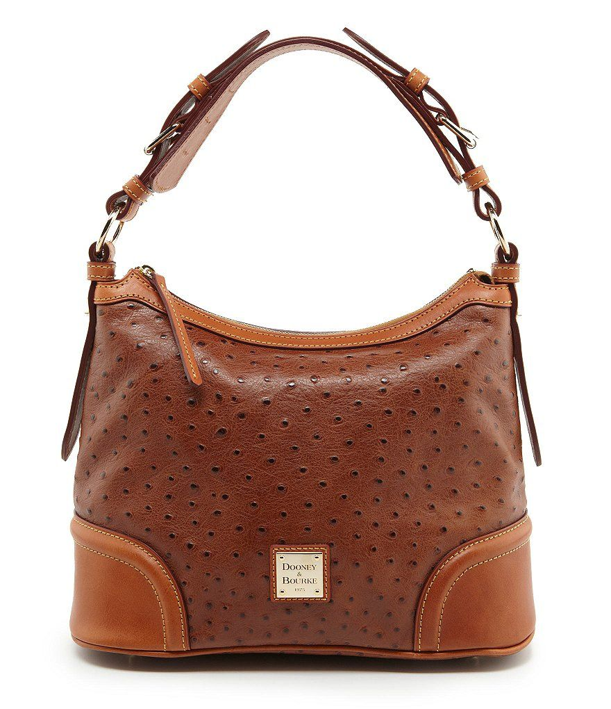 Dooney & Bourke Dillard´s 75th Anniversary Ostrich-Embossed Hobo ...