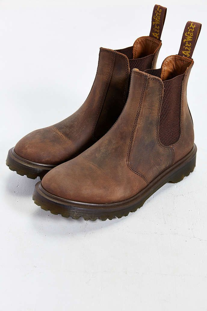 Dr Martens Boots Mens Brown Brown 2976 Chelsea Stretch