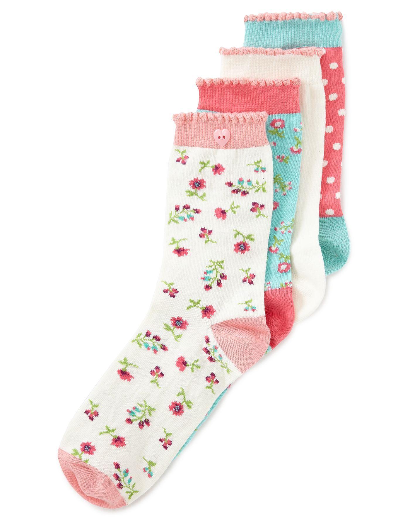 ladies trainer socks asda
