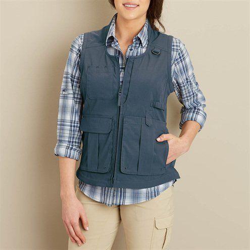 f920427dcb7b31ddc3c3390a47fdff7c - Women's Lightweight Utility Gardening Vest