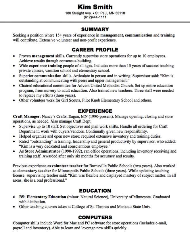 craft manager resume sample httpexampleresumecvorgcraft manager - Skills For Resume Manager Craft Store
