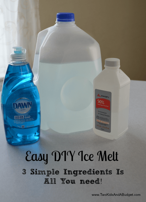 Easy Diy Ice Melt That Is Safe For The Kids And Pets