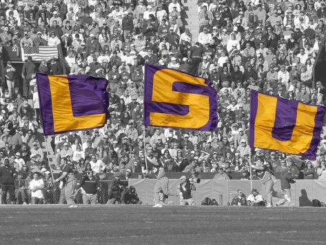 Louisiana State University Lsu Flags Photographic Print At Art Com Lsu Tigers Lsu Lsu Tigers Football