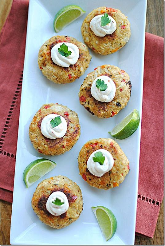 Chipotle-Lime Chicken Croquettes