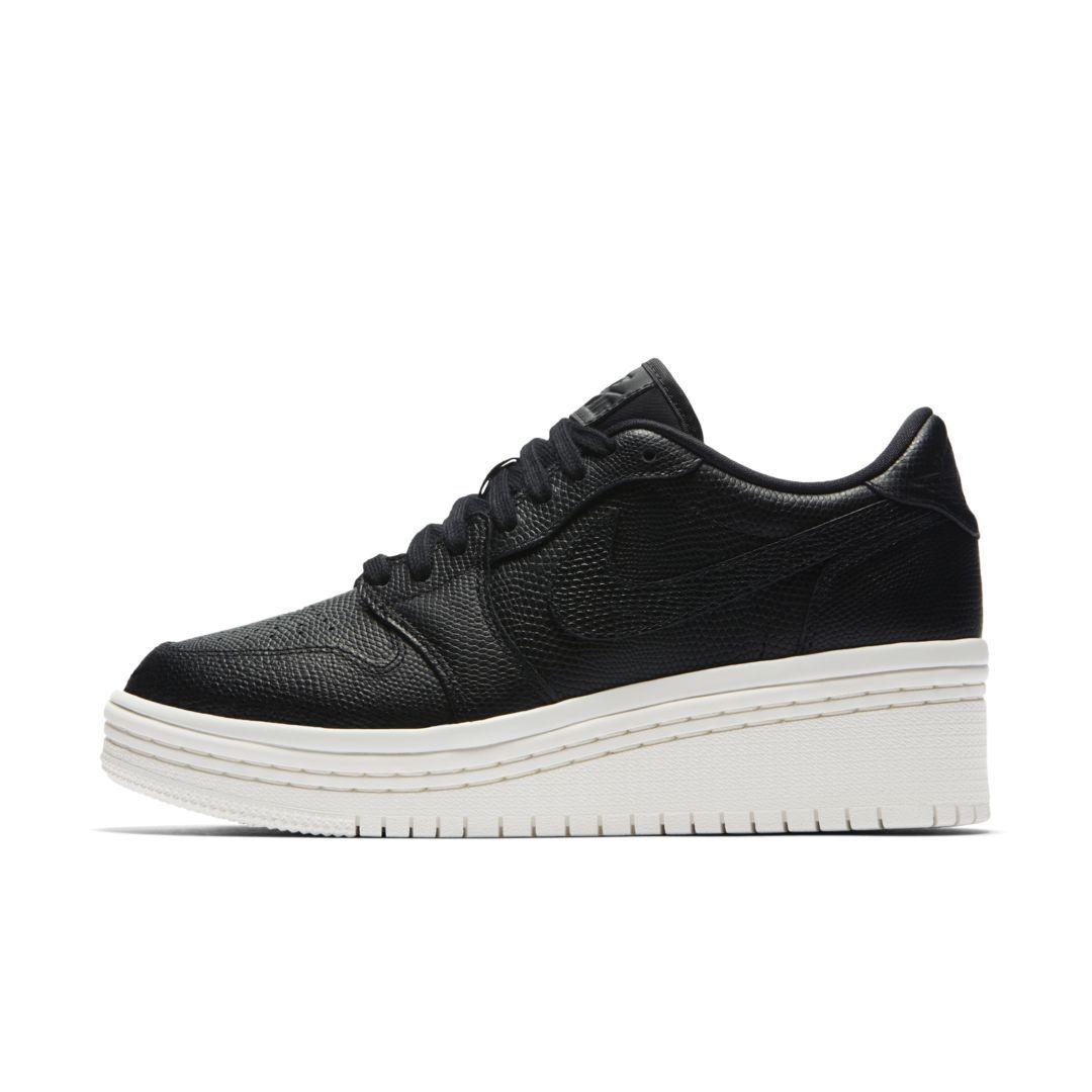 best sneakers 0e1c2 4d01c Air Jordan 1 Retro Low Lifted Women's Shoe Size 6.5 (Black)   Products