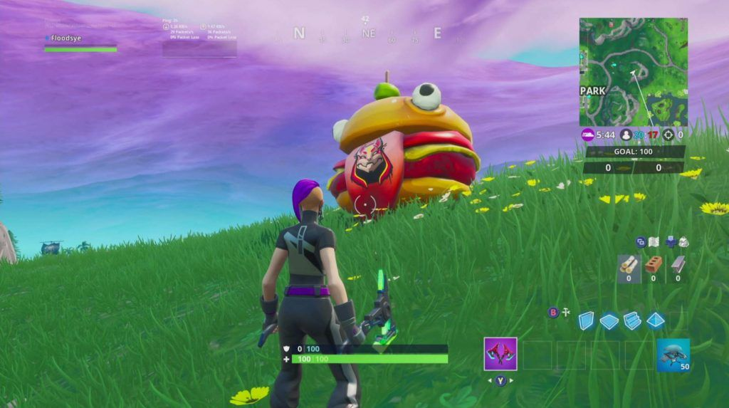 Where to find a Drift painted Durr Burger head dinosaur and stone