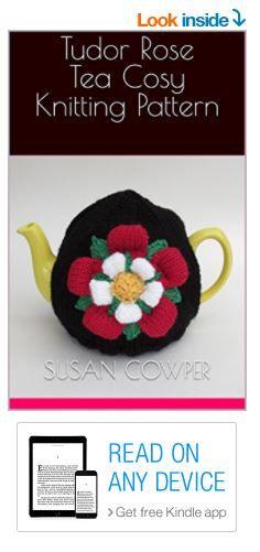 Tudor Rose Tea Cosy Knitting Pattern Kindle Edition for tech knitters https://www.amazon.co.uk/dp/B0745GYCF8