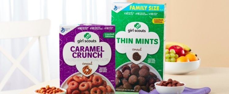 Girl Scout Cookie Cereals Are a Thing Now, Making Girl Scout Season That Much Sweeter