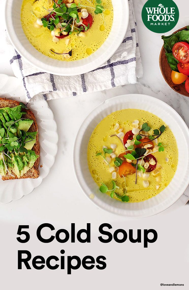 3 Slimming Chilled Summer Soups 3 Slimming Chilled Summer Soups new images