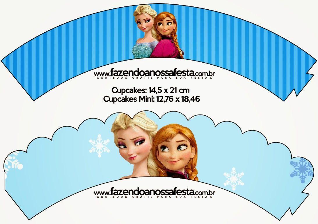 Frozen en Navidad Azul: Imprimibles Gratis para Fiestas. | Др Элина ...