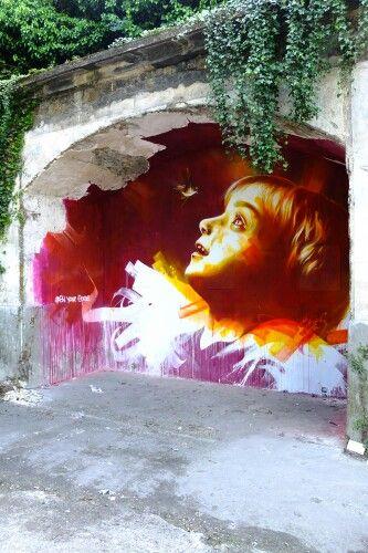 Dan23 - street art - In situ art festival, Fort d'Aubervilliers (17 mai au 14 juillet 2014)