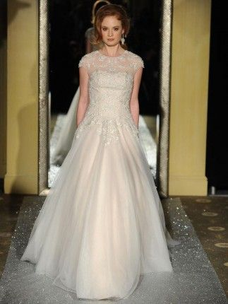 Oleg Cassini Bridal Dress | Stone Washed Wedding Dresses | Pinterest ...