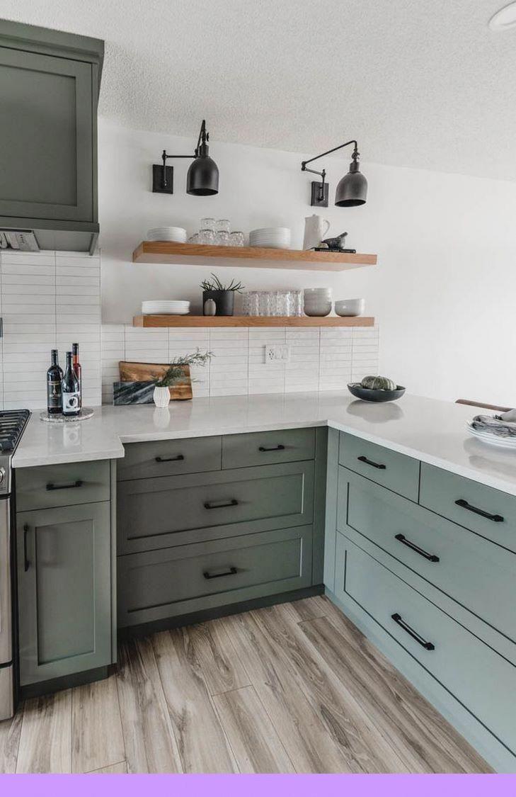 Dark Light Oak Maple Cherry Cabinetry And Outdoor Kitchen Wood Cabinet Doors Check The Pictu Diy Kitchen Renovation Green Kitchen Cabinets Kitchen Design