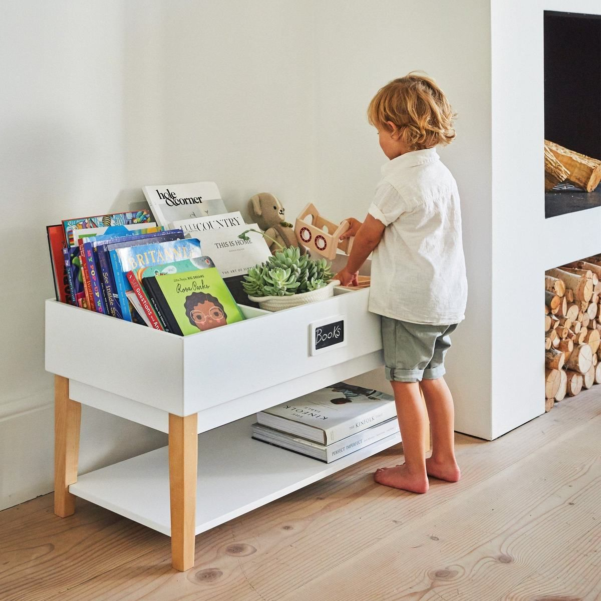 Potter Book Toy Organiser Kids Storage Boxes Toy Organization Kids Bookcase