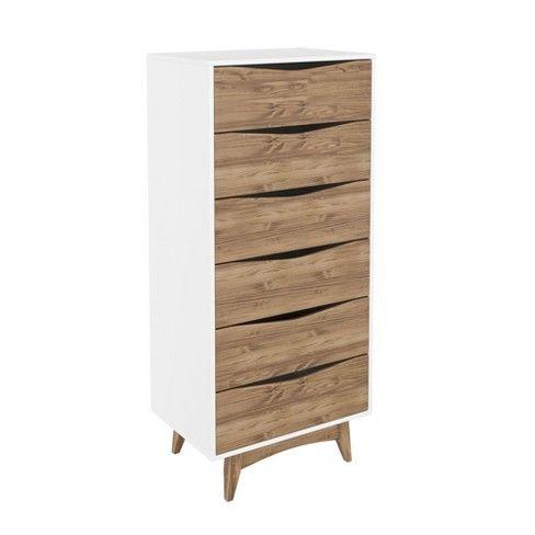 Manhattan Comfort 53 54 Hamilton Tall Dresser In 2019 St