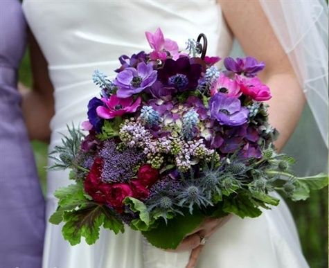 red-and-purple-wedding-bouquets