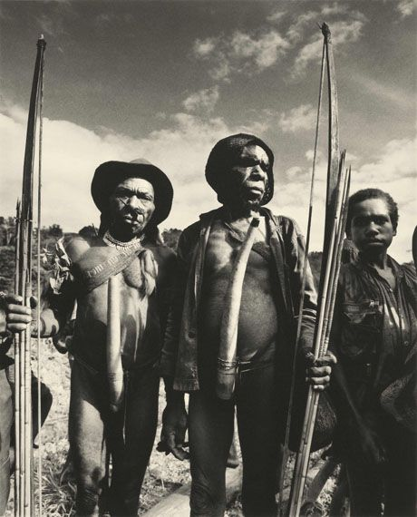 Ceremonial Gathering, Irian Jaya, 1992, © Don McCullin