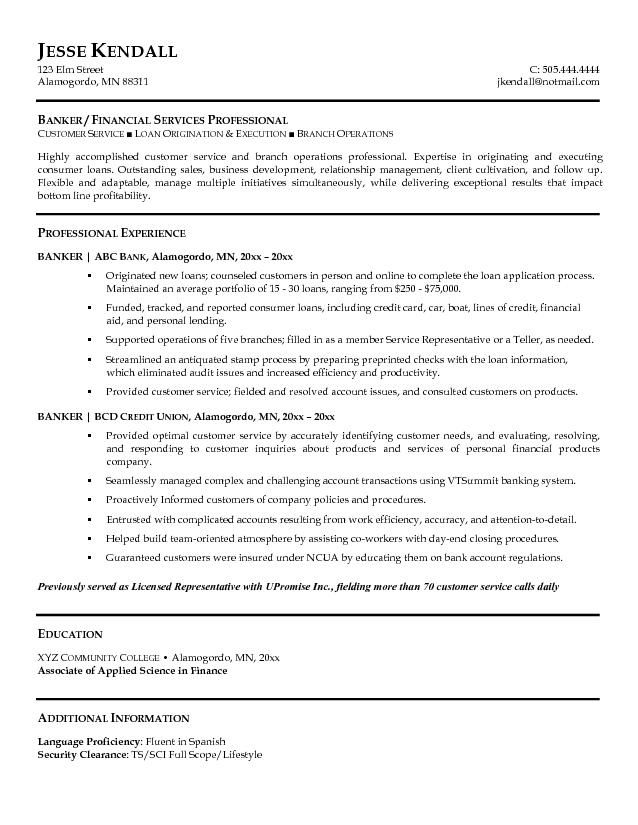 Investment Banking Resume - http\/\/wwwresumecareerinfo - banking resume example