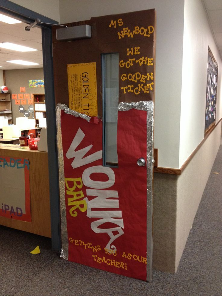 Image result for classroom willy wonka door decorations ...