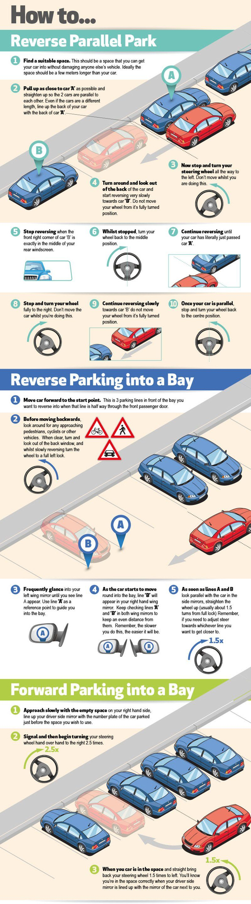 Pin by Andreea on Auto Car hacks, Driving tips, Parallel