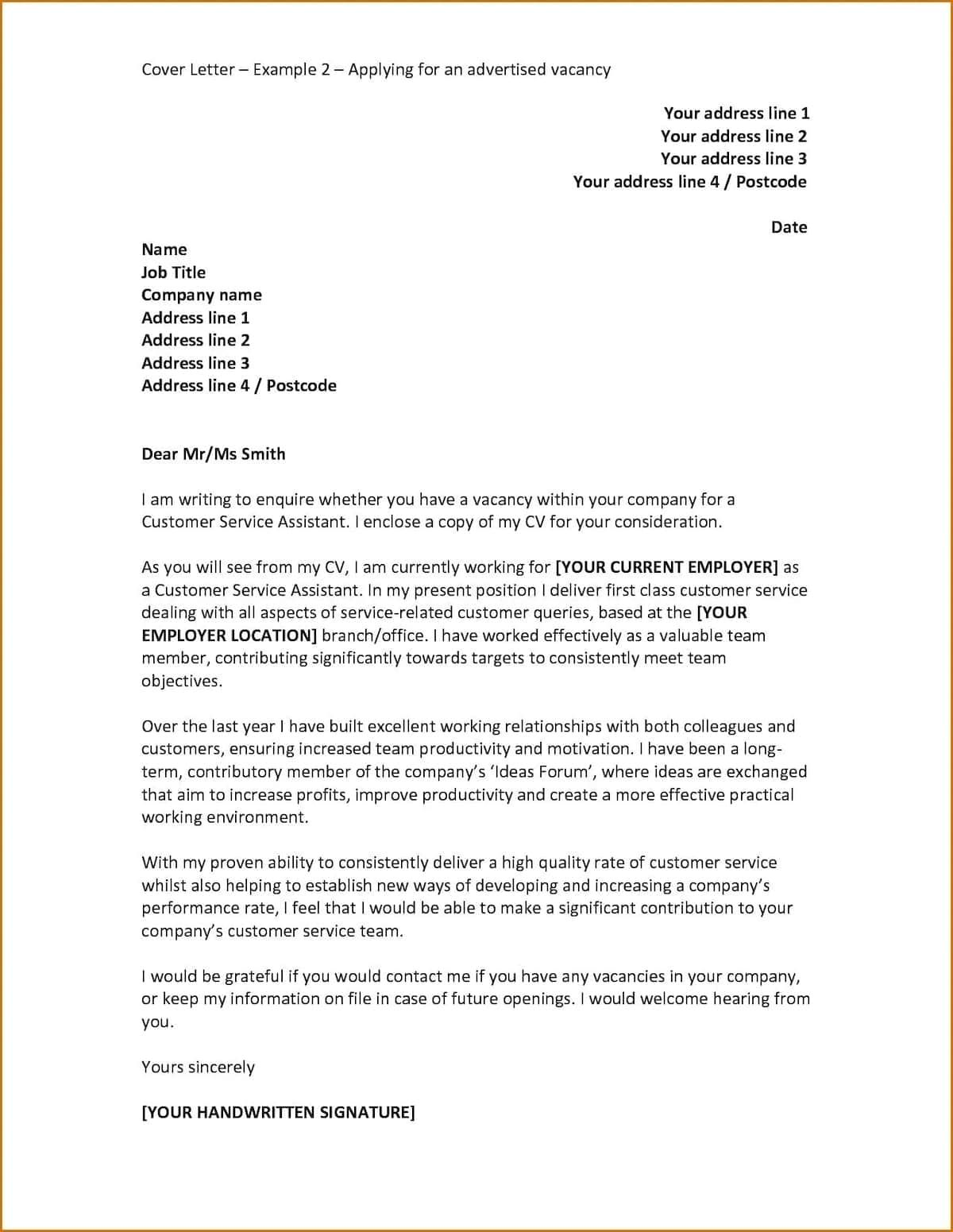 30 How To Write A Cover Letter Job Cover Letter Cover Letter