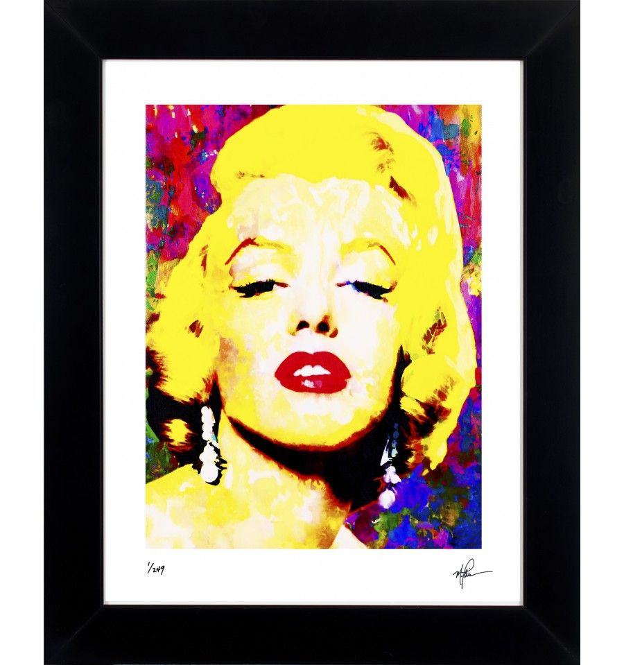MARILYN MONROE - ECHOS OF LOVELINESS - LIMITED EDITION ART PRINT BY ...