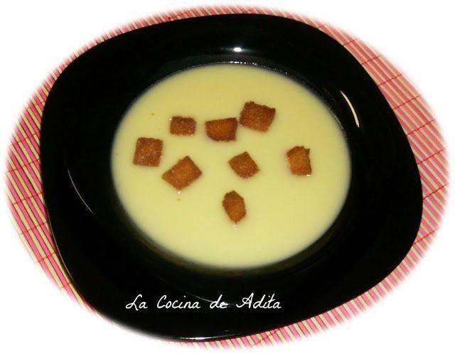 La Cocina de Adita: Crema de porrusalda
