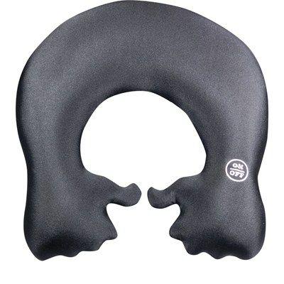 Almofada massageadora de pescoço mãozinhas preta. R$85,20