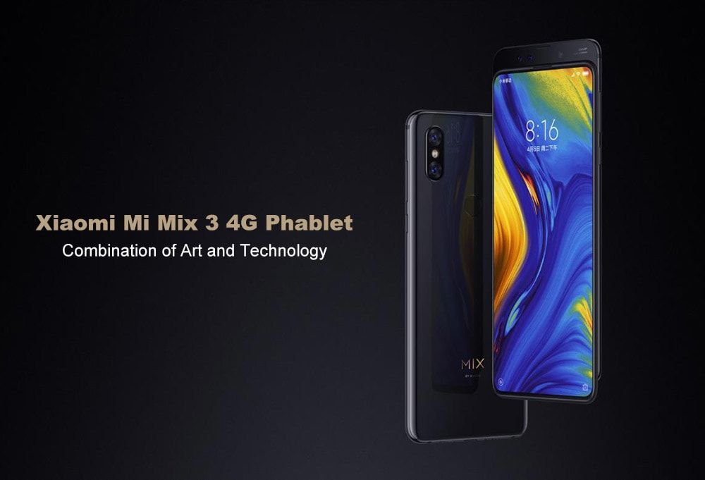 Xiaomi Mi Mix 3 4g Phablet 6gb Ram Phablet Xiaomi Cell Phones For Sale