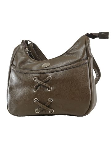 Add A Dash Of Colour To Your Style By Choosing This Olive Sling Bag From Lavie Also Available In Teal Has Four Pocket