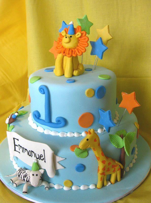 Party Animal Custom logos Pinterest Animal cakes Cakes baby