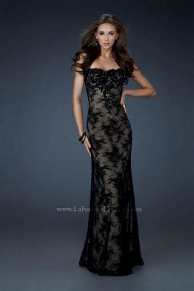 68b1f3553e19 Awesome long black lace prom dresses 2018-2019 Check more at http    myclothestrend.com dresses-review long-black-lace-prom-dresses-2018-2019