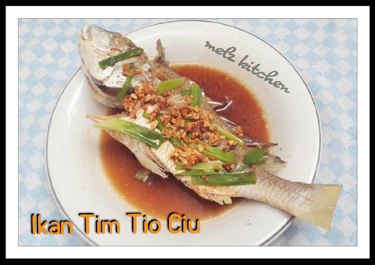 Resep Ikan Tim Tio Ciu Oleh Melz Kitchen Resep Resep Ikan Masakan Makanan
