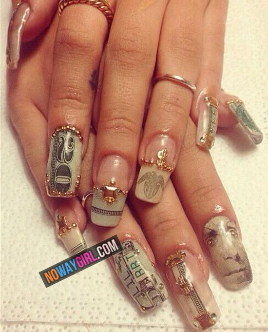 Do These Nails Look Good Or Are They Ratchet Noway
