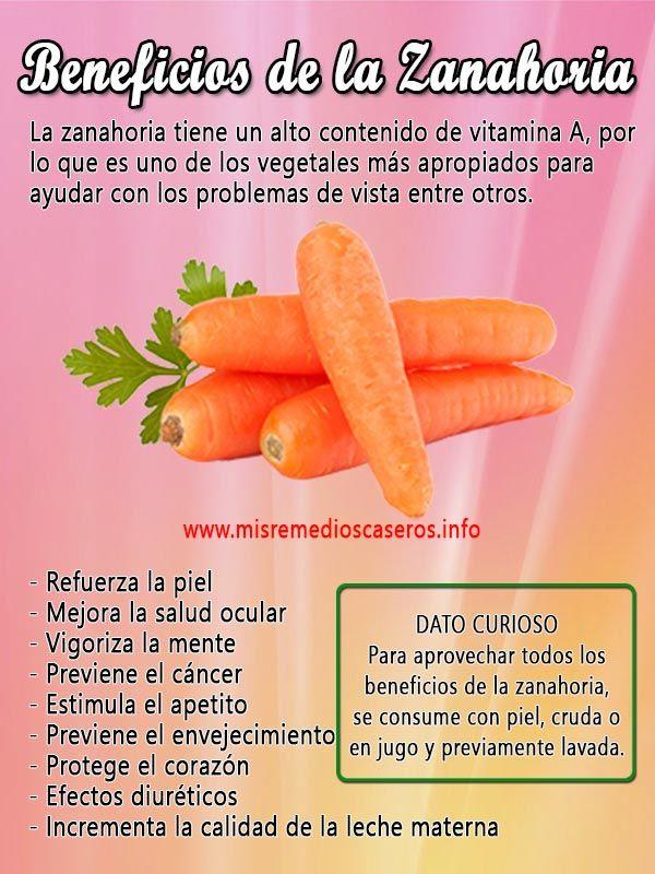 Beneficios De La Zanahoria Food Healthy Fruit Las vitaminas todas las vitaminas, minerales y alimentos donde encontrar vitaminas. beneficios de la zanahoria food