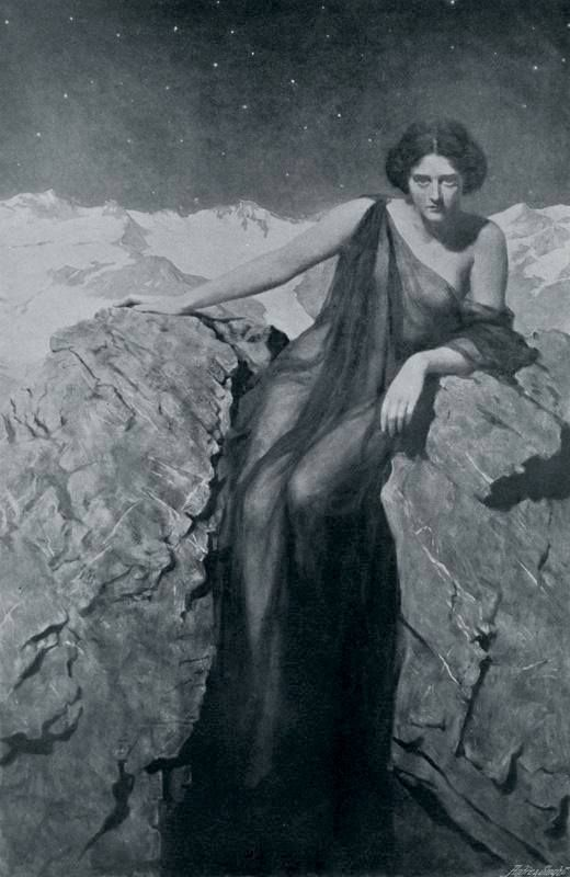 "The Summer Night that Paused Among her Stars"" by John Collier ..."
