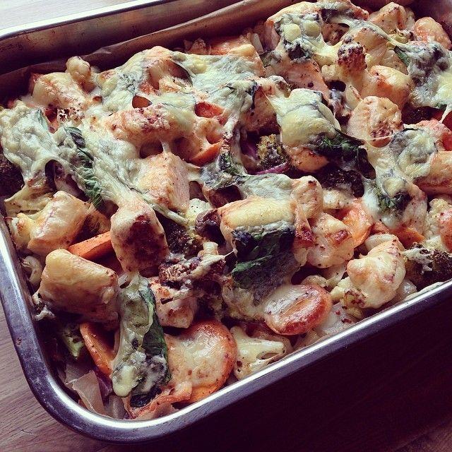 Tasty salmongratin  // middagstips: gratinert lakseform!  sunt, raskt, enkelt og smakfullt ☺️ www.lindastuhaug.blogg.no #Padgram
