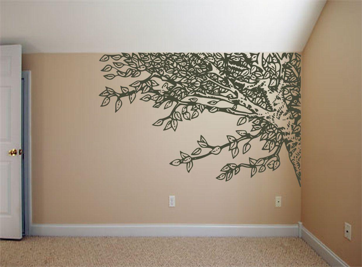 under an oak willow tree  nature inspired  vinyl wall art decals  - under an oak willow tree  nature inspired  vinyl wall art decals stickersby rdaveshore