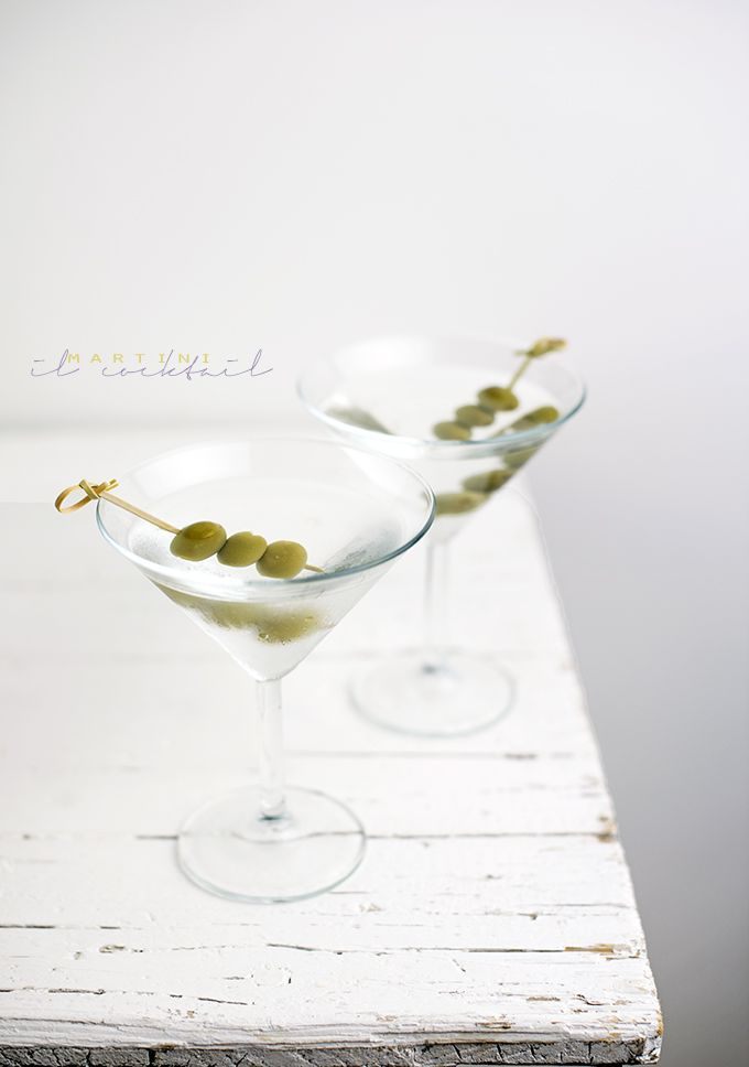 Martini cocktail by www.pane-burro.blogspot.it