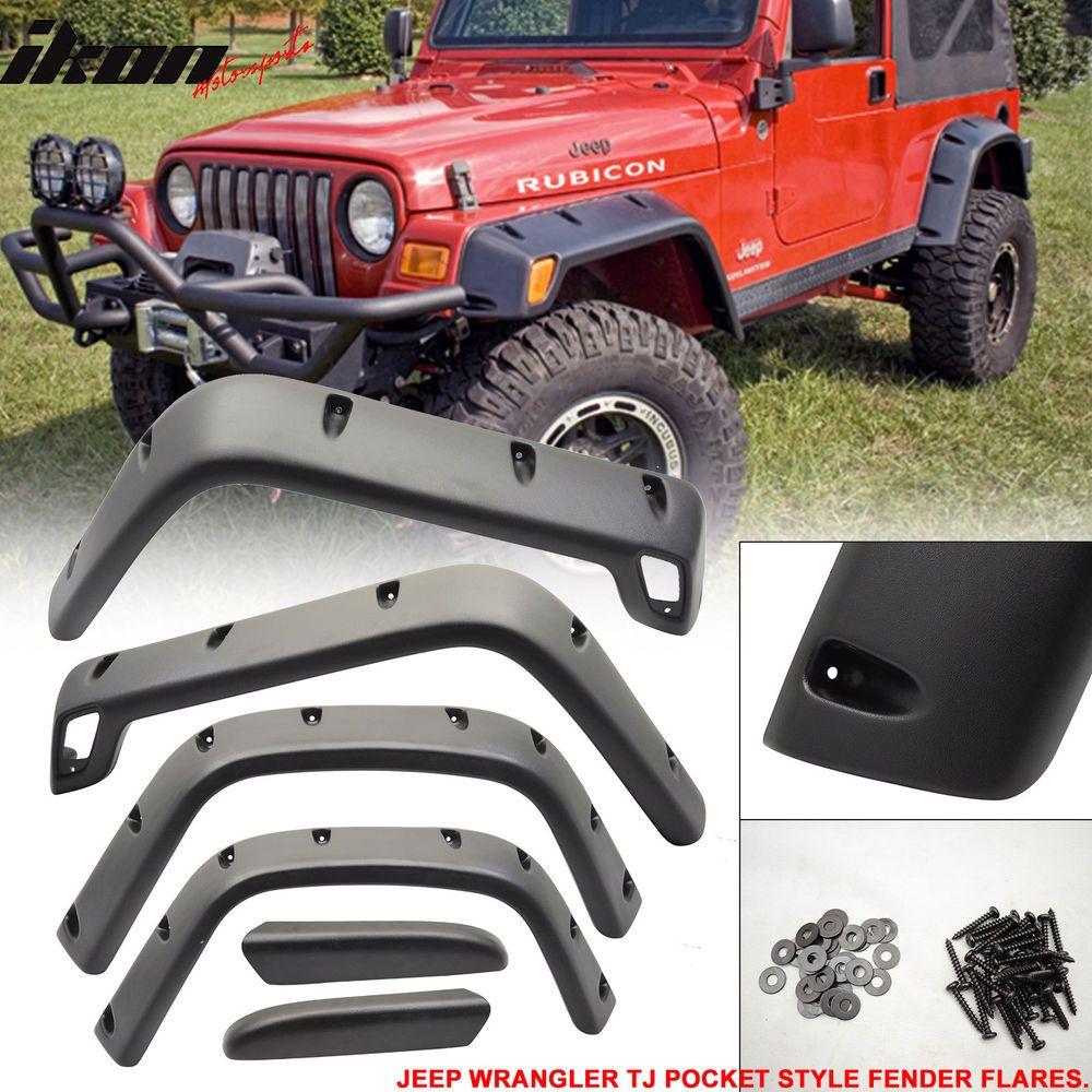 Details About Fits 97 06 Jeep Wrangler Tj Sport Utility Pocket